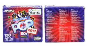 Karaoke CDs Pop Box 2017 leihen