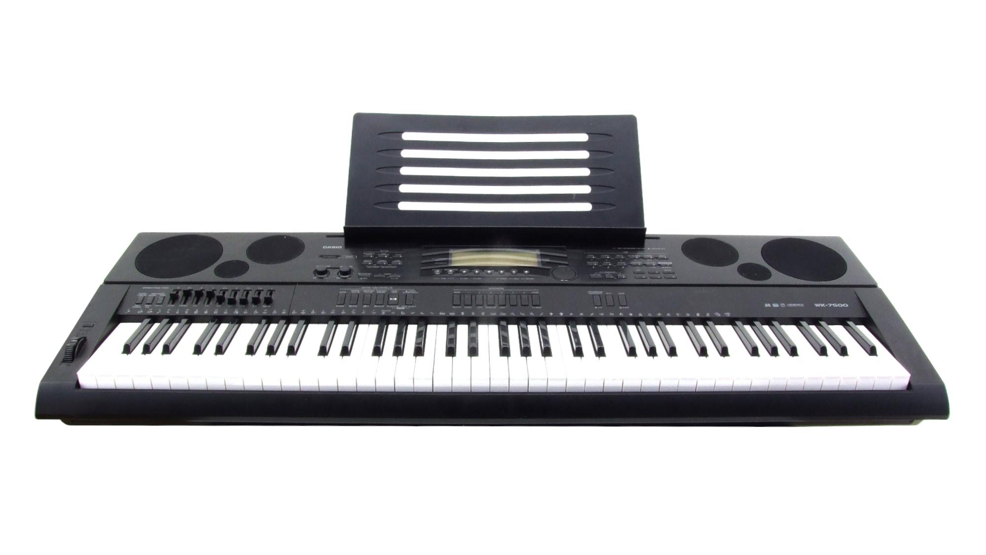 Casio WK-7500 Keyboard leihen