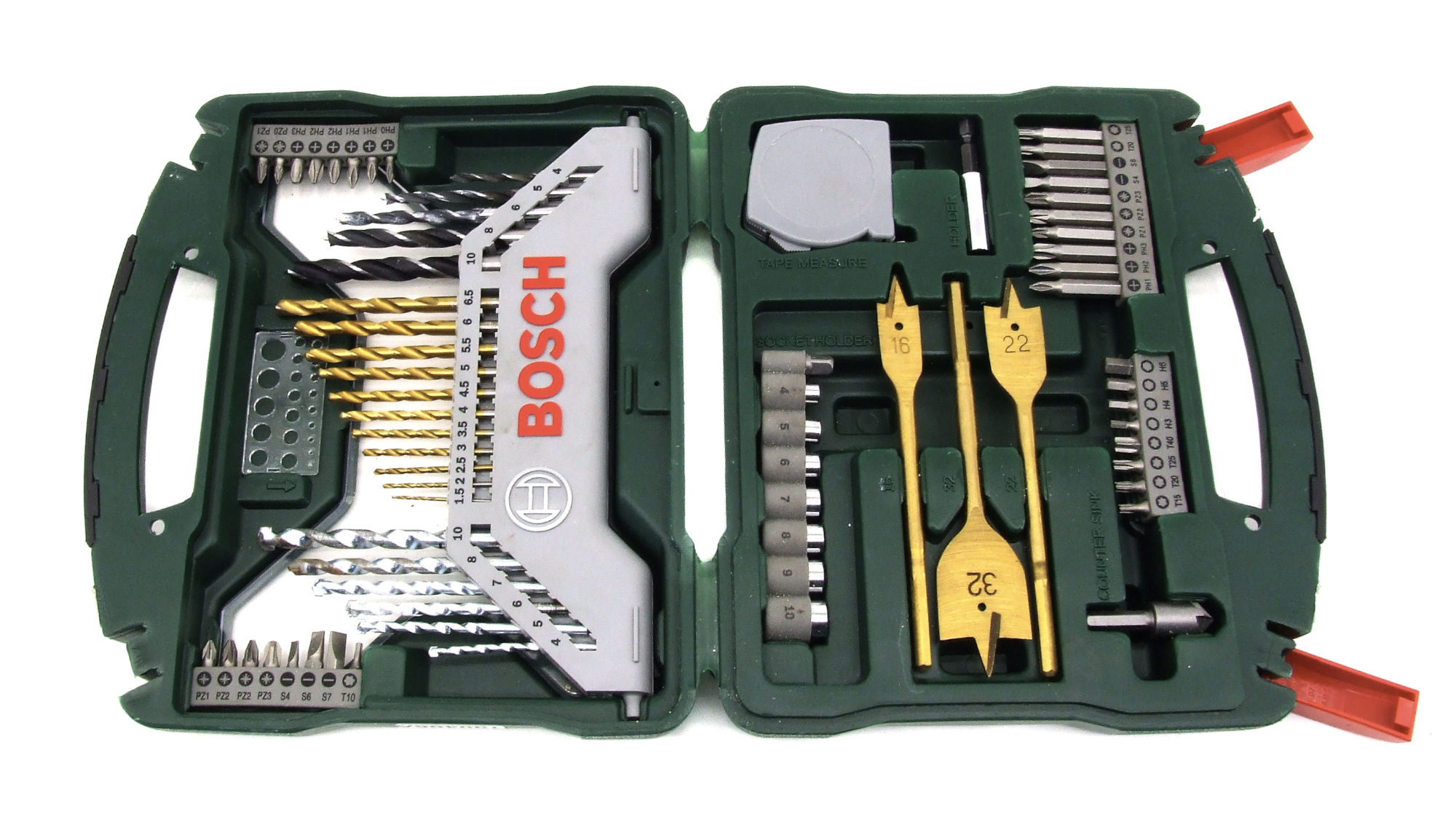 Bosch Titanium-Bohrer-Set leihen
