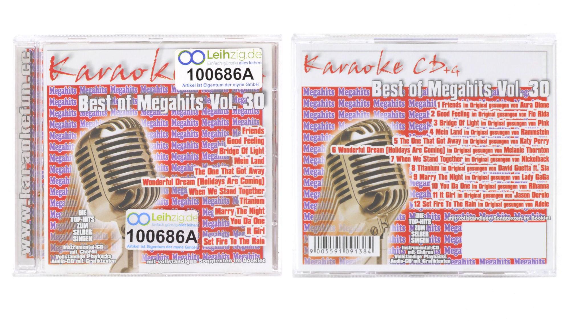 Karaoke CD Chart Hits Vol.30 leihen