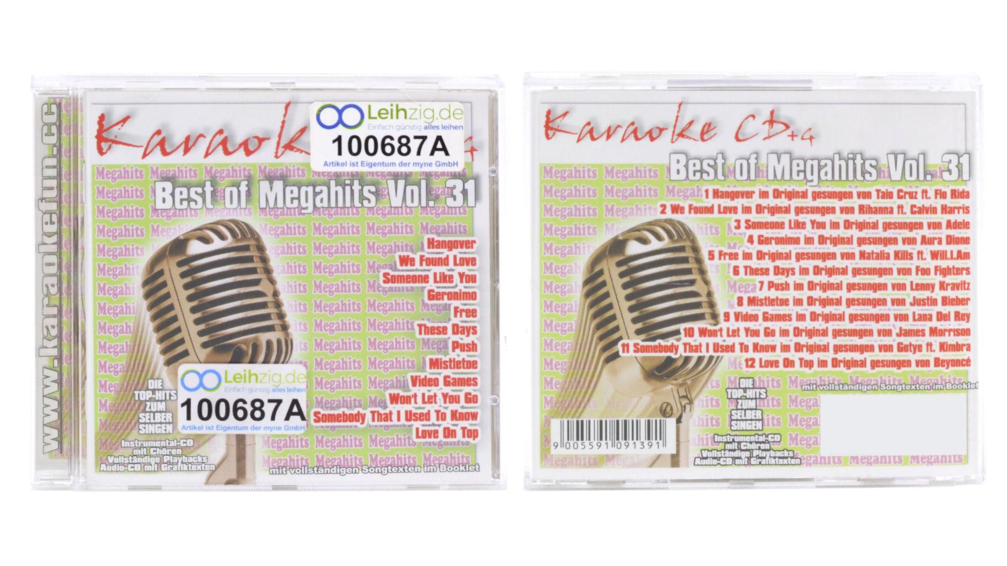 Karaoke CD Chart Hits Vol.31 leihen