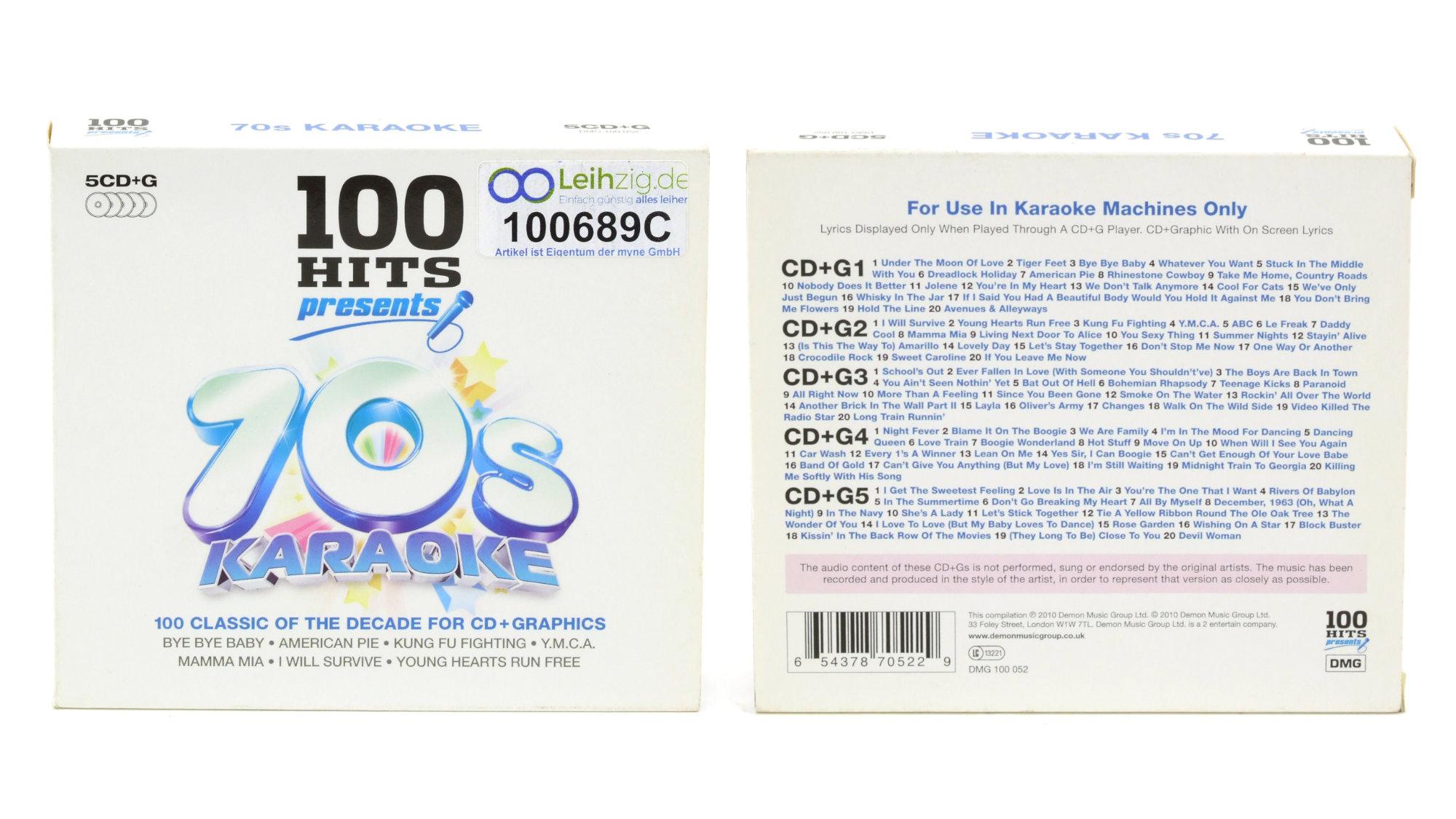 Karaoke CDs 70er leihen