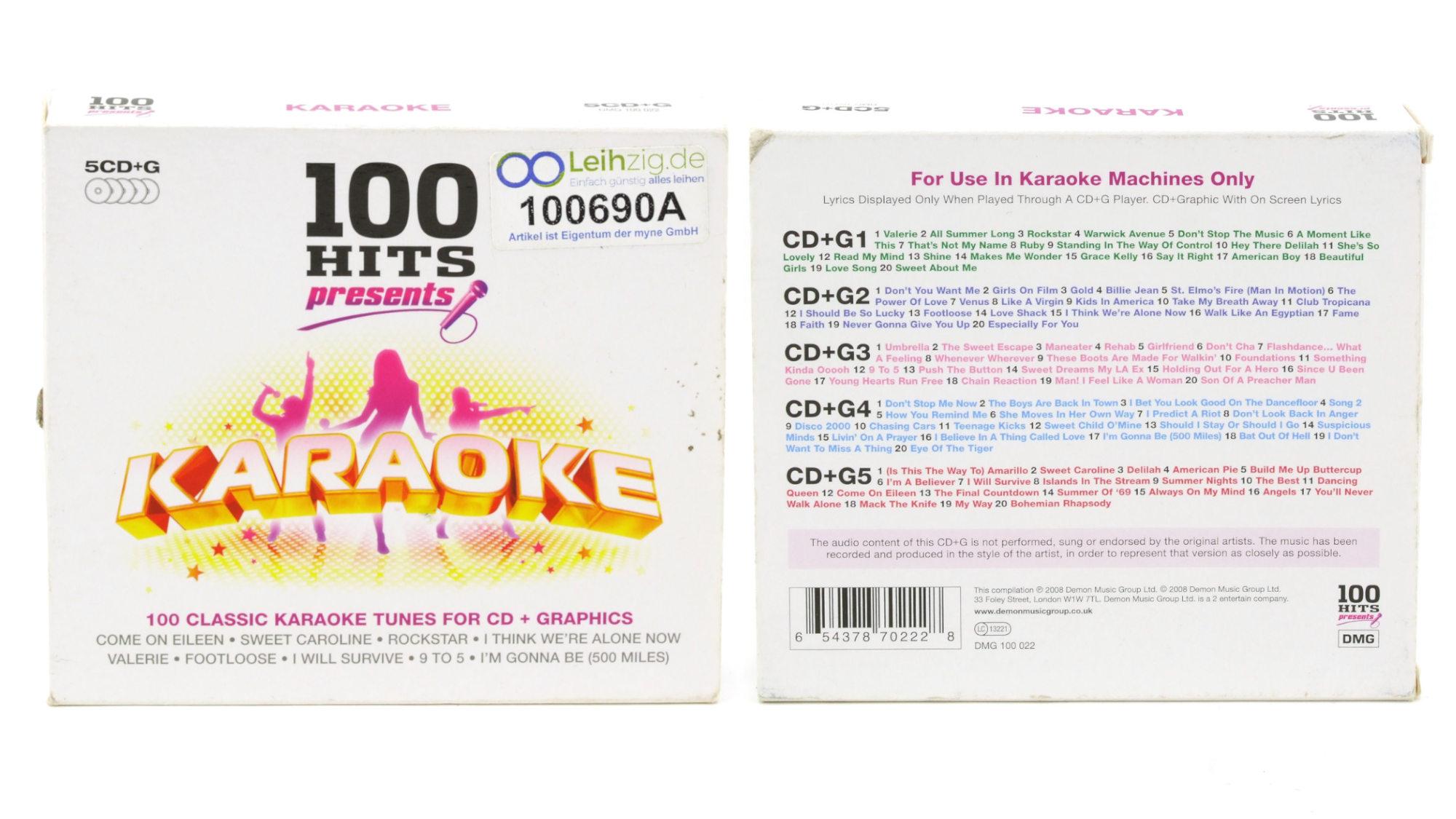 Karaoke CDs Greatest Hits leihen