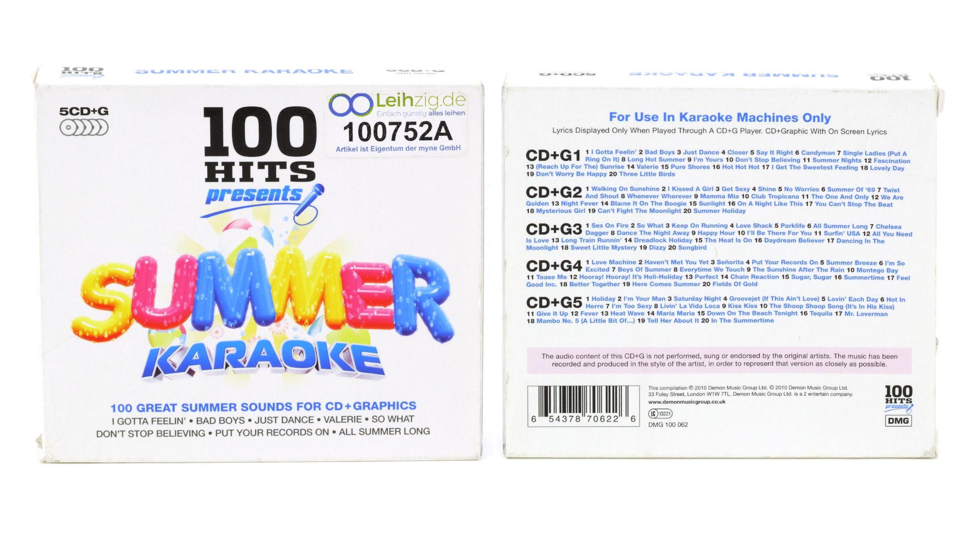 Karaoke CDs Summer Karaoke leihen