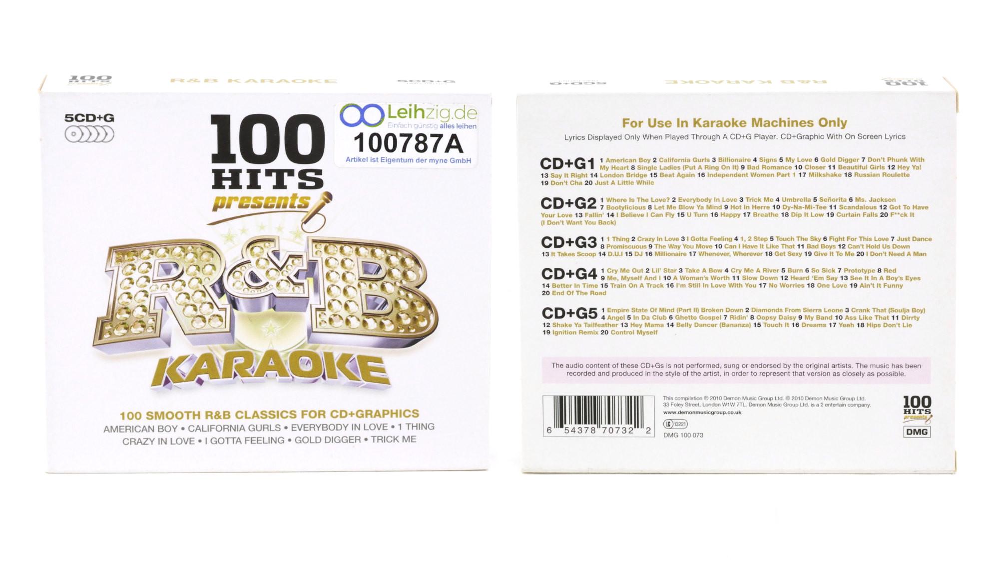 Karaoke CDs R&B leihen