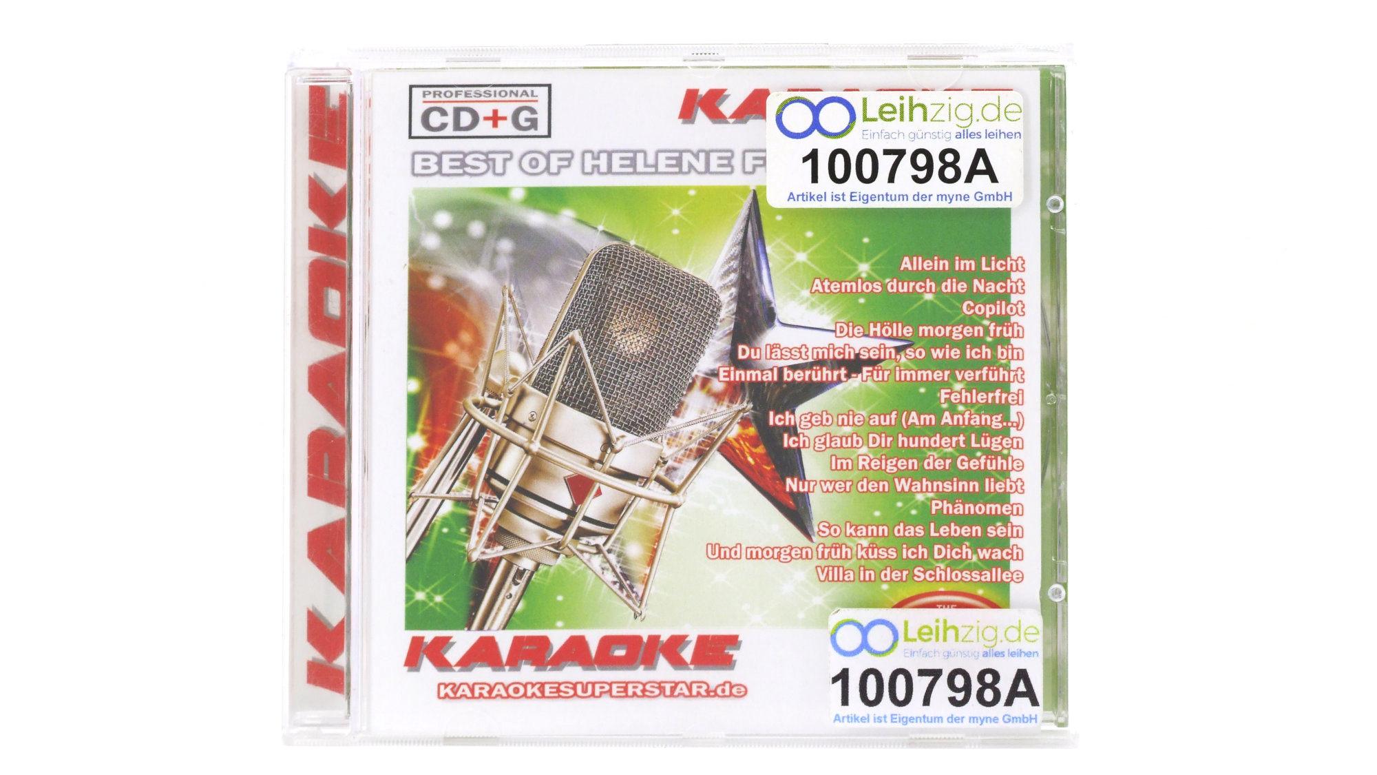 Karaoke CD Helene Fischer leihen