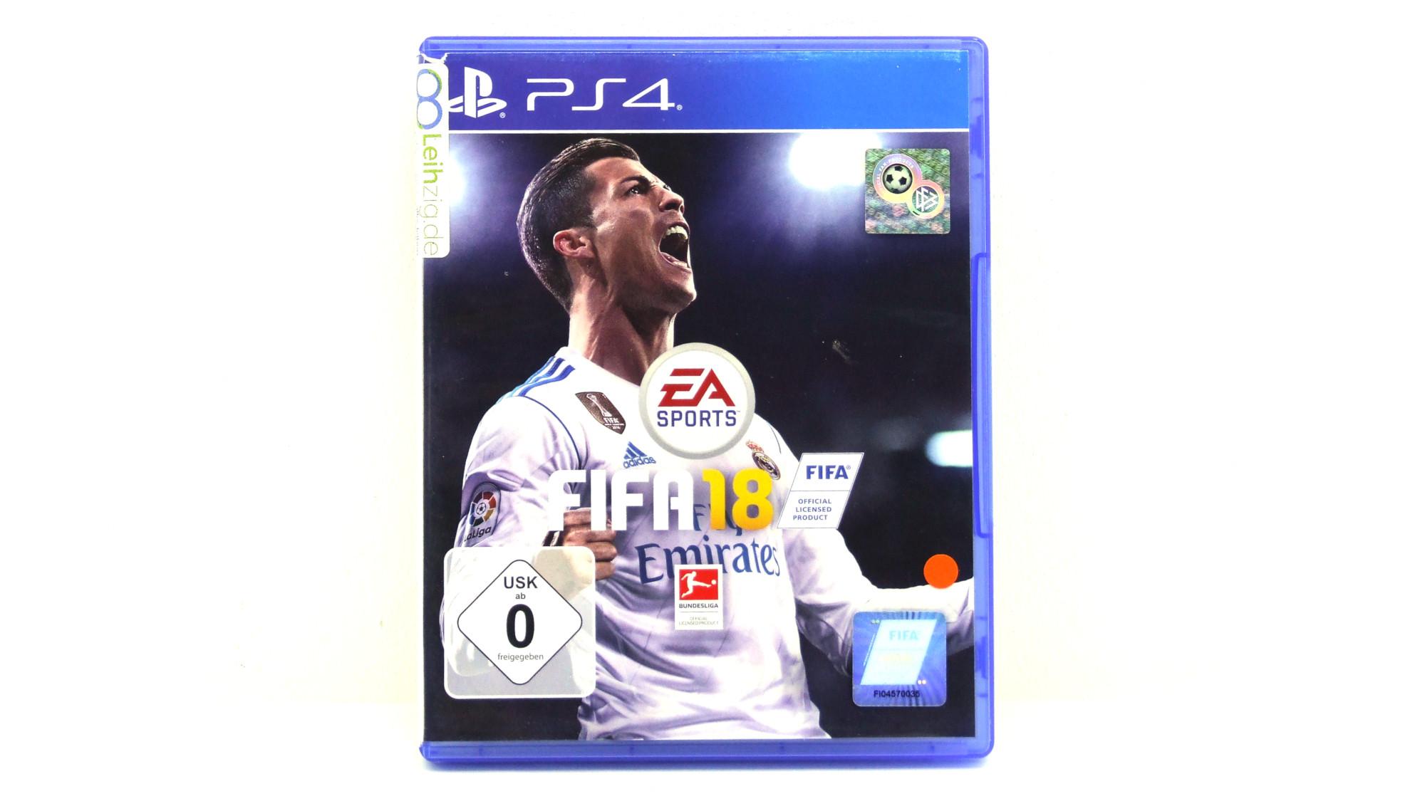 Spiel: Fifa 18 leihen