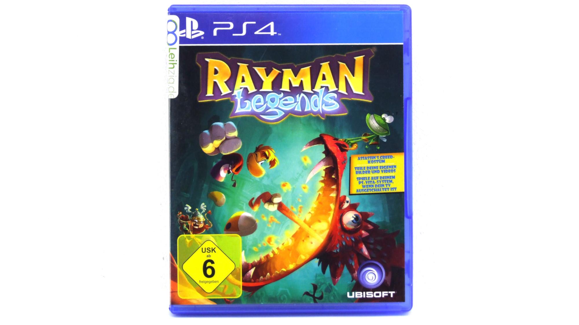 Spiel: Rayman Legends leihen