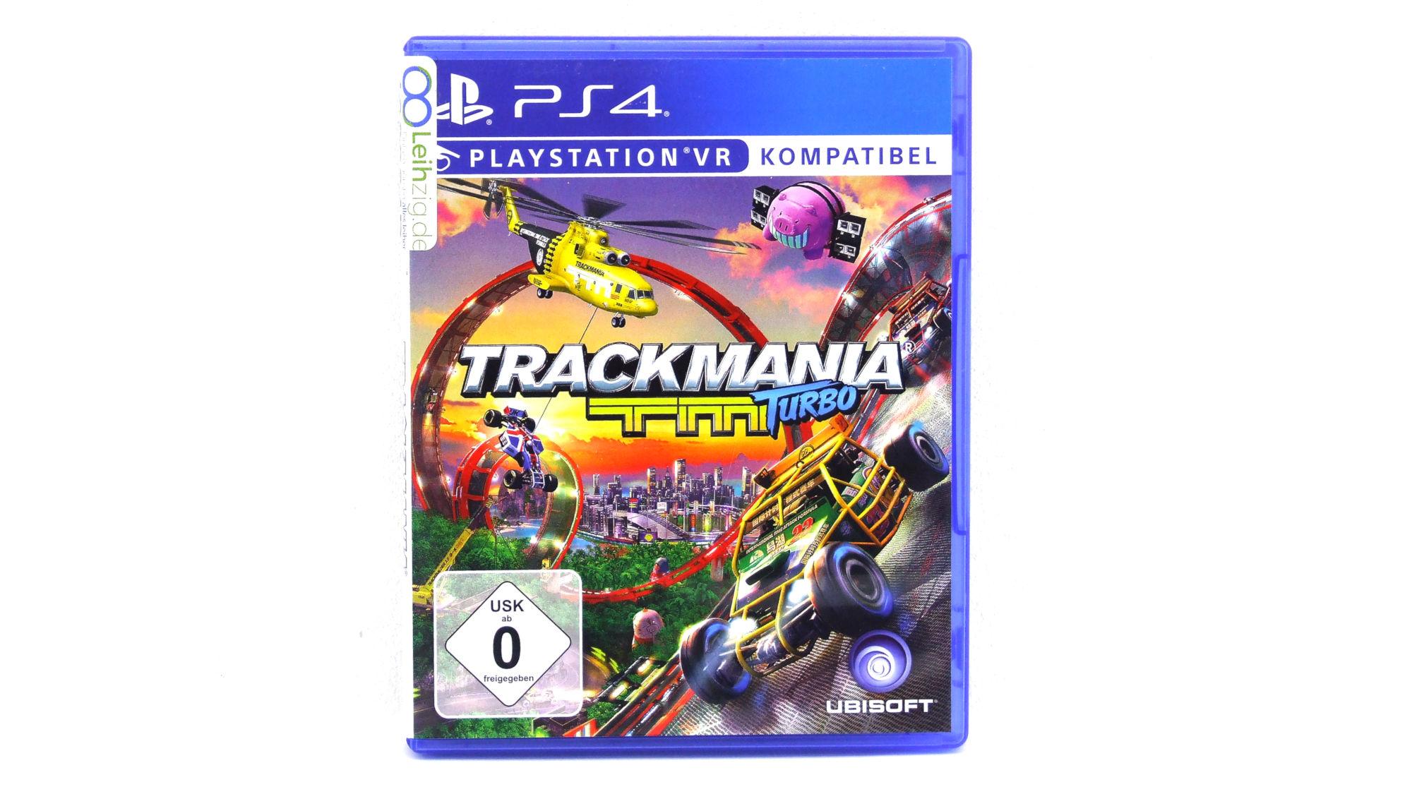 Spiel: Trackmania Turbo leihen