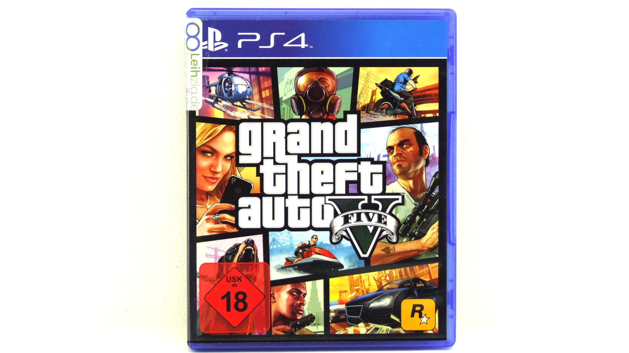 Spiel: Grand Theft Auto 5 leihen