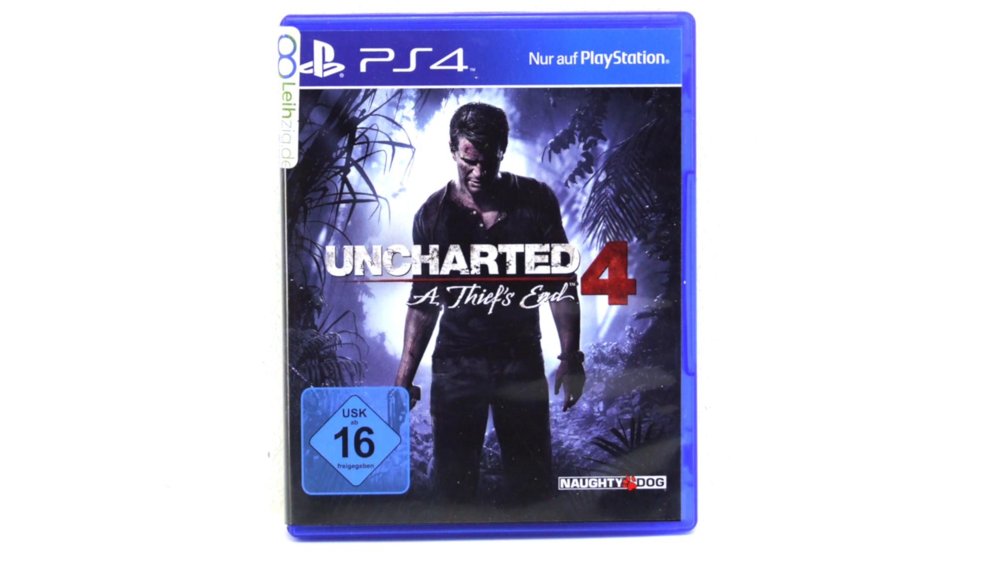 Spiel: Uncharted 4: A Thief's End leihen