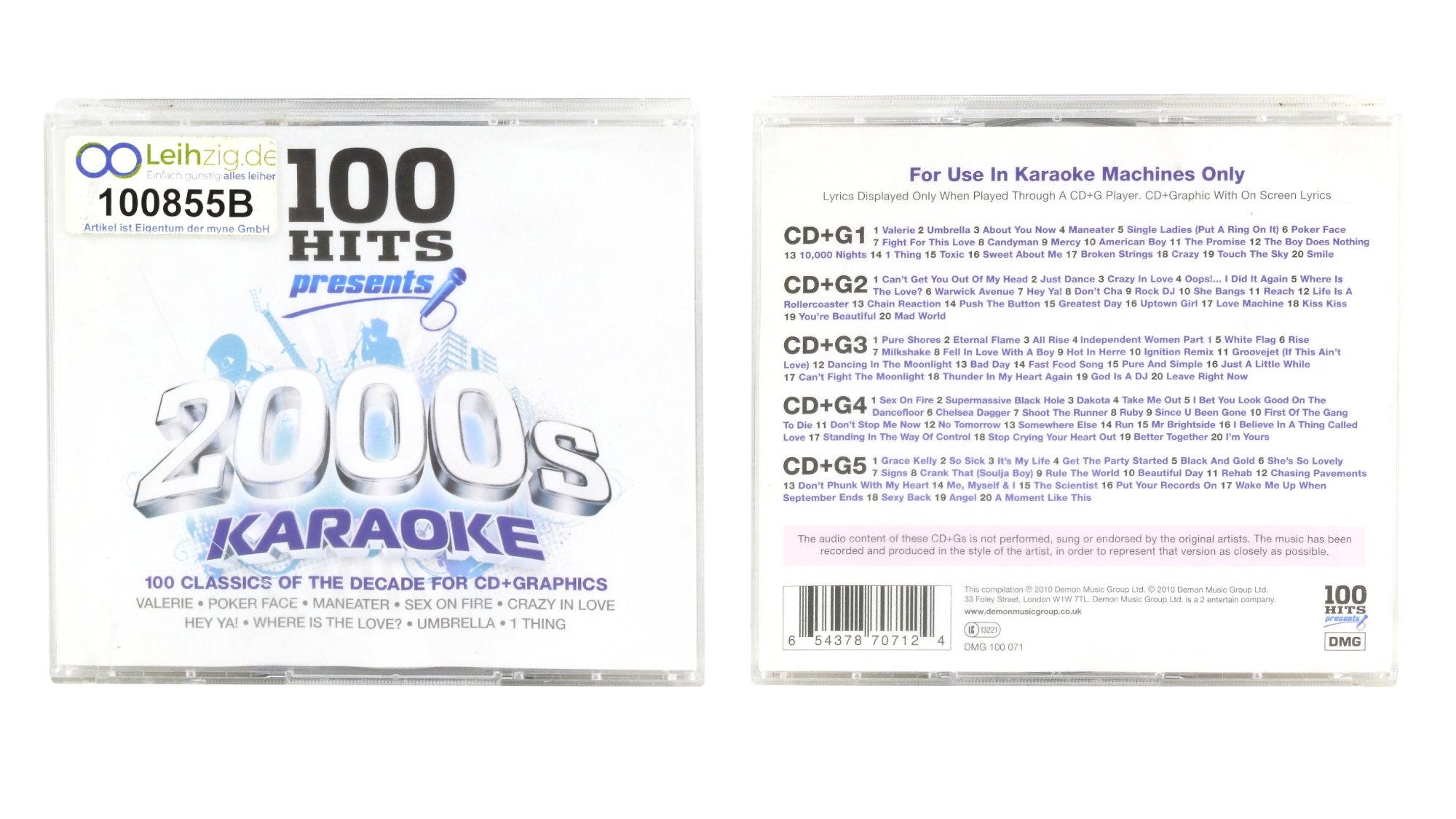 Karaoke CDs 2000er  leihen