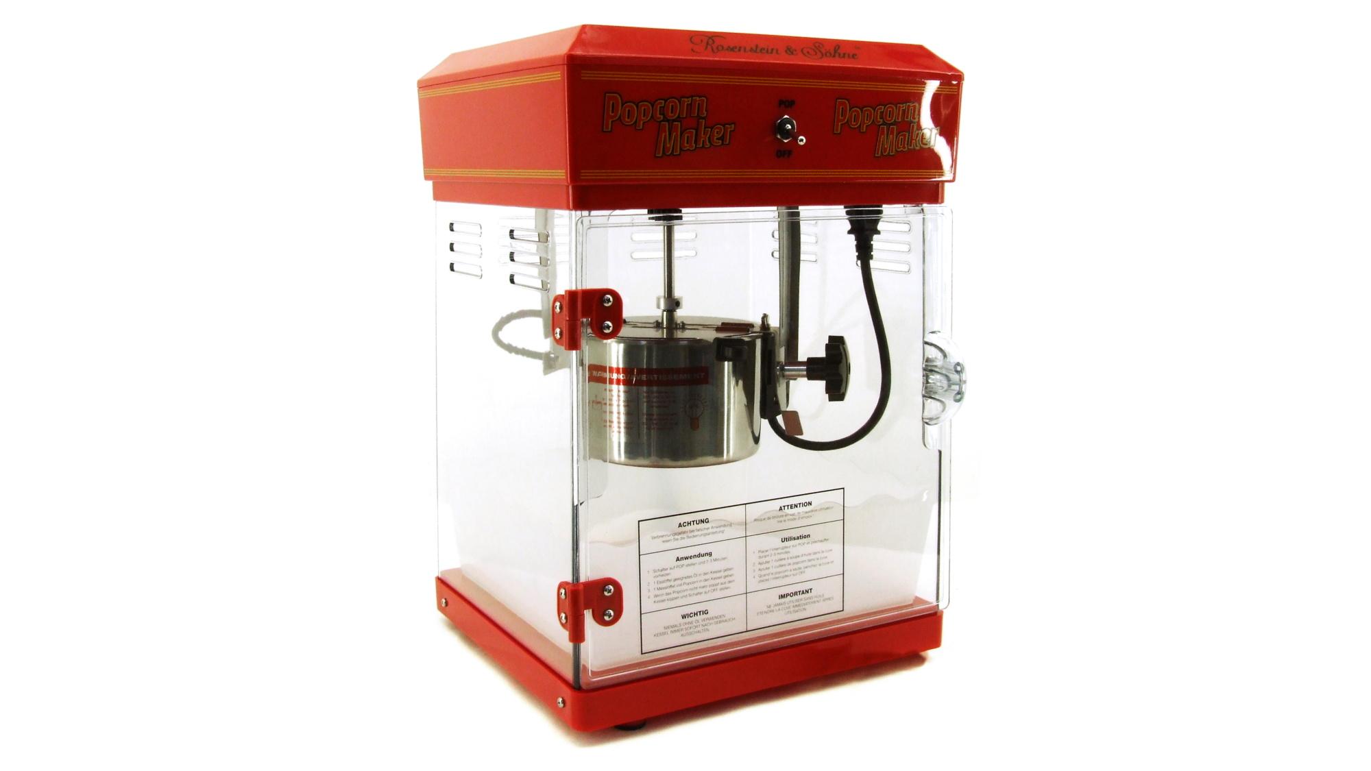 Profi Popcorn-Maschine leihen