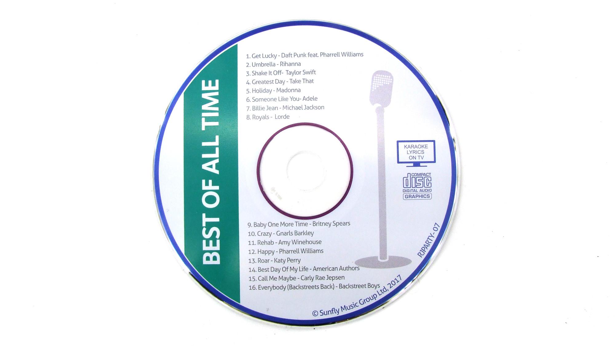 Karaoke CDs Best of All Time leihen