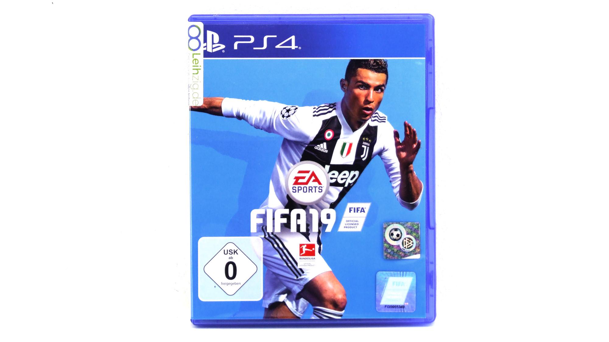 Spiel: Fifa 19  leihen