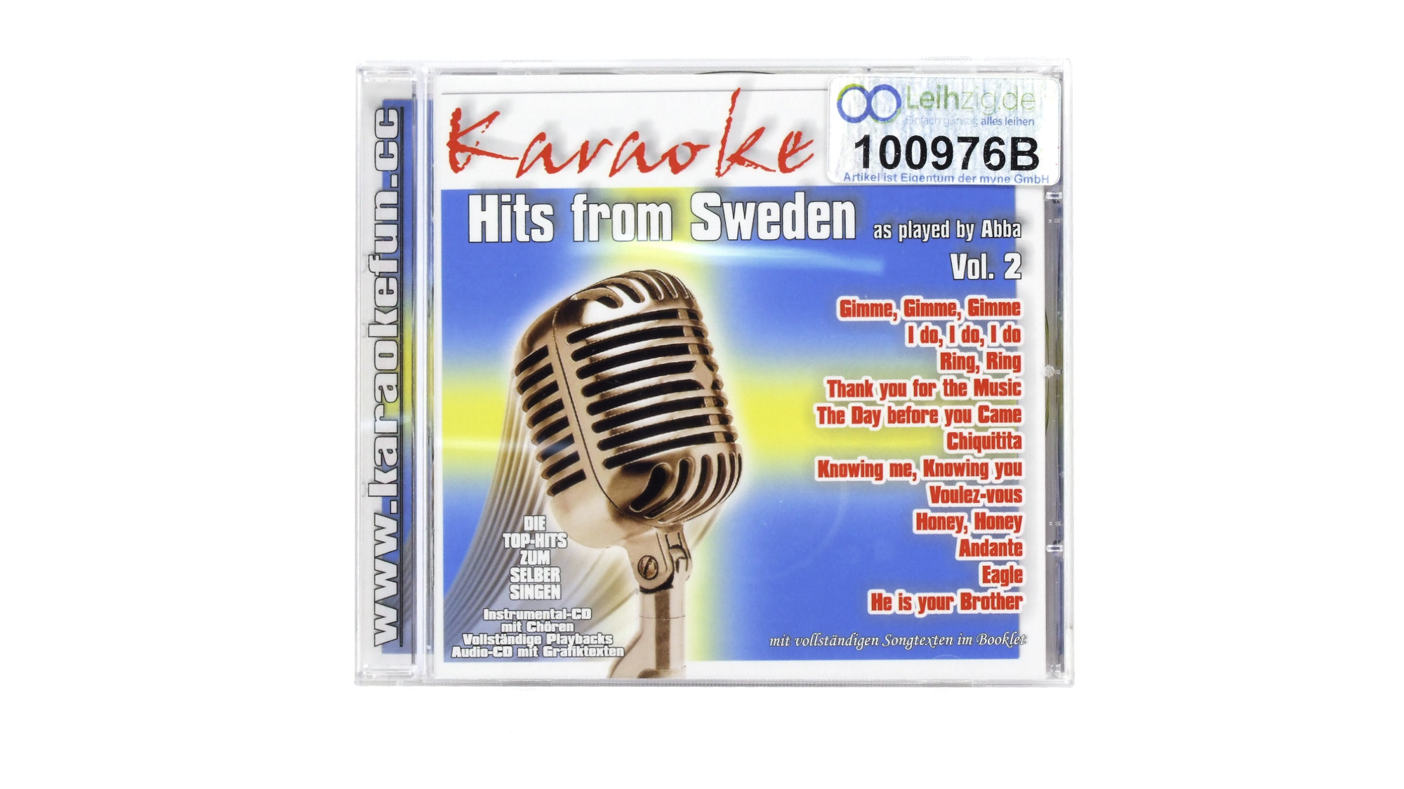 Karaoke CD ABBA leihen