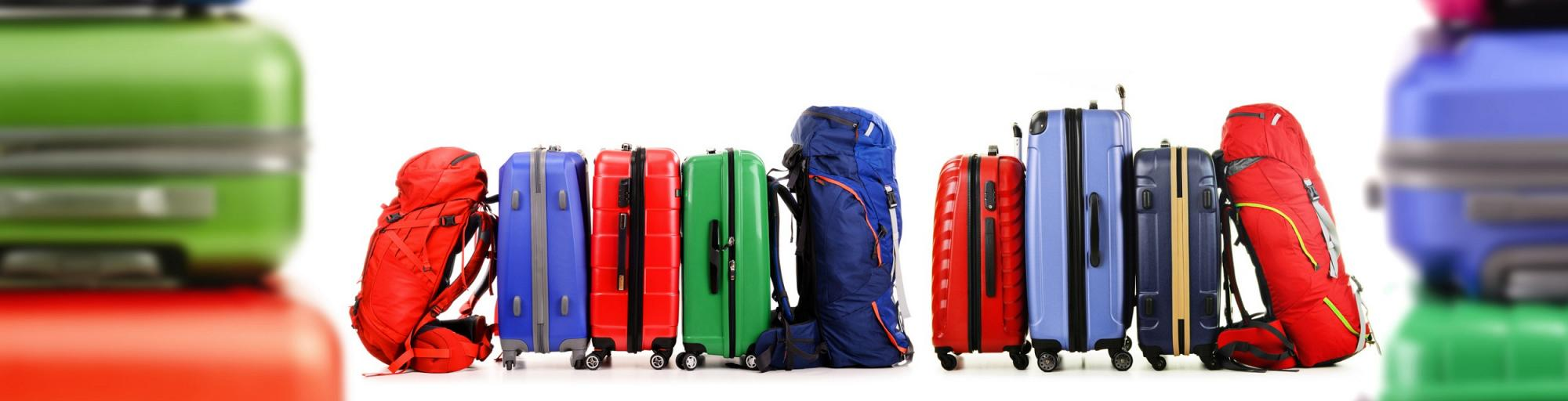 Koffer & Rucksäcke leihen