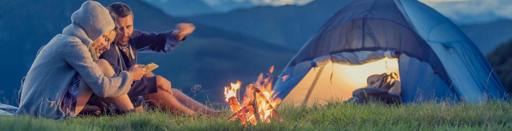 Camping leihen