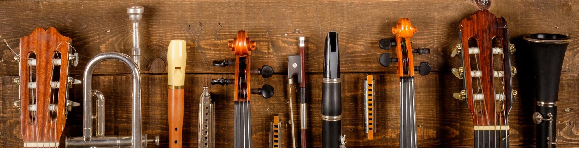 Musikinstrumente leihen