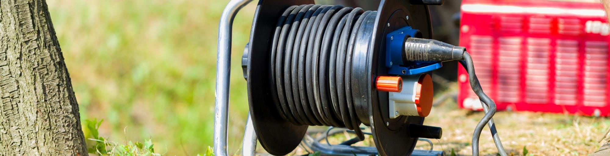 Stromkabel & Stromverteiler leihen